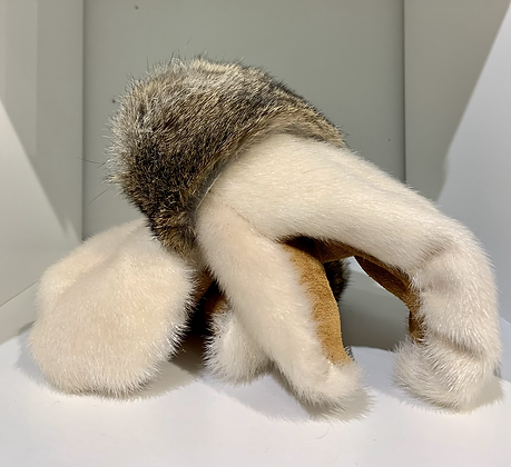 Seal & rabbit boxer mitts by Miranda Amos