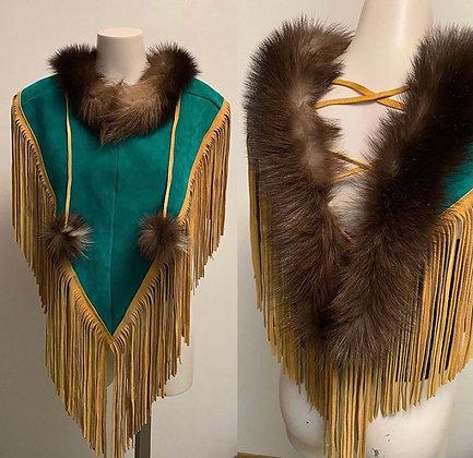 Wolverine shawl by Kaylyn Baker