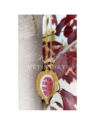 'Ruby Fall' - The Métis North Luxe Leaf Collection