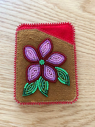 Beaded card holder by Cathy Kotchea
