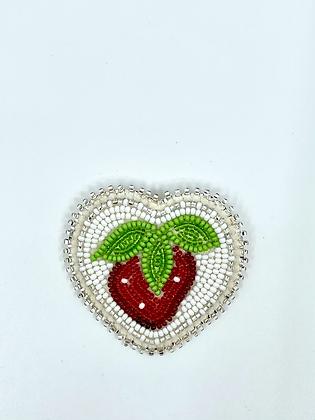 Beaded pin by Cathy Kotchea