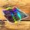 Thumbnail: Giant holographic Crocus sticker by Vashti Etzel, Golden Eye Designs