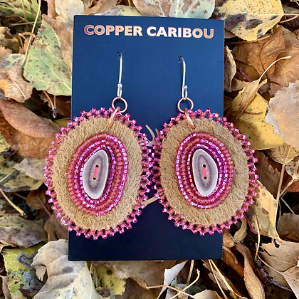 'Pink Skylines' by Copper Caribou Creations