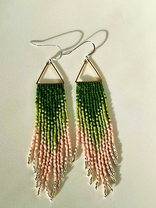 Delica dangles by Crow Feather Beadwork