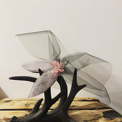 Fascinator hair clip by Mary Blahitka