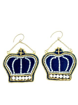 Royal Blue crowns by Métis North