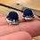 Thumbnail: Mini tufted & jewel studs by Métis North