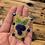 Thumbnail: Blueberry & Silver Fox charm necklace by Vashti Etzel /Golden Eye Designs