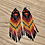 Thumbnail: Delica dangles by Crow Feather Beadwork