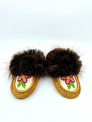 Baby moccasins by Cathy Kotchea