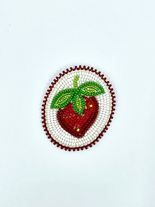 Beaded pin by Cathy Kotchea