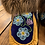 Thumbnail: Forget-me-not floral & velvet moccasins by Sharon Vittrekwa - size 7
