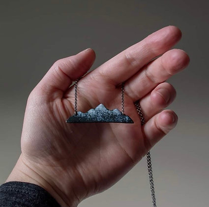 Mountain pendant by The Secret Wild Jewelry