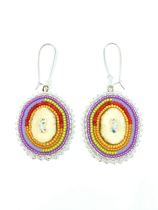 Say it with Pride earrings by Janelle Hager