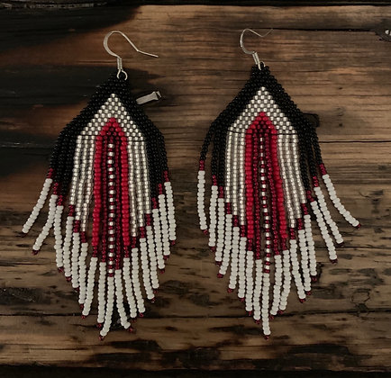 Beaded dangles by Gayle Ball