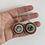 Thumbnail: Abalone rounds by Danae Earrings