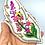 """Thumbnail: """"Gų̄s"""" fireweed necklace by Vashti Etzel, Golden Eye Designs"""