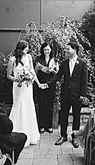 Tade Credgeur - Toronto Ontario - GTA wedding officiant - spiritual, non-denominational and mixed faith wedding officiant specializing in traditional and same-sex weddings