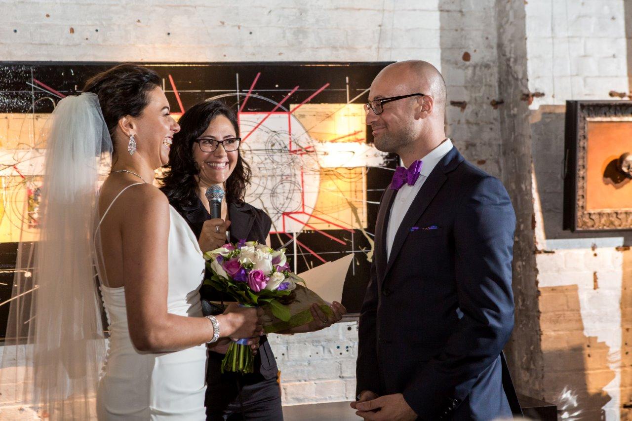 Thompson Landry Wedding Officiant