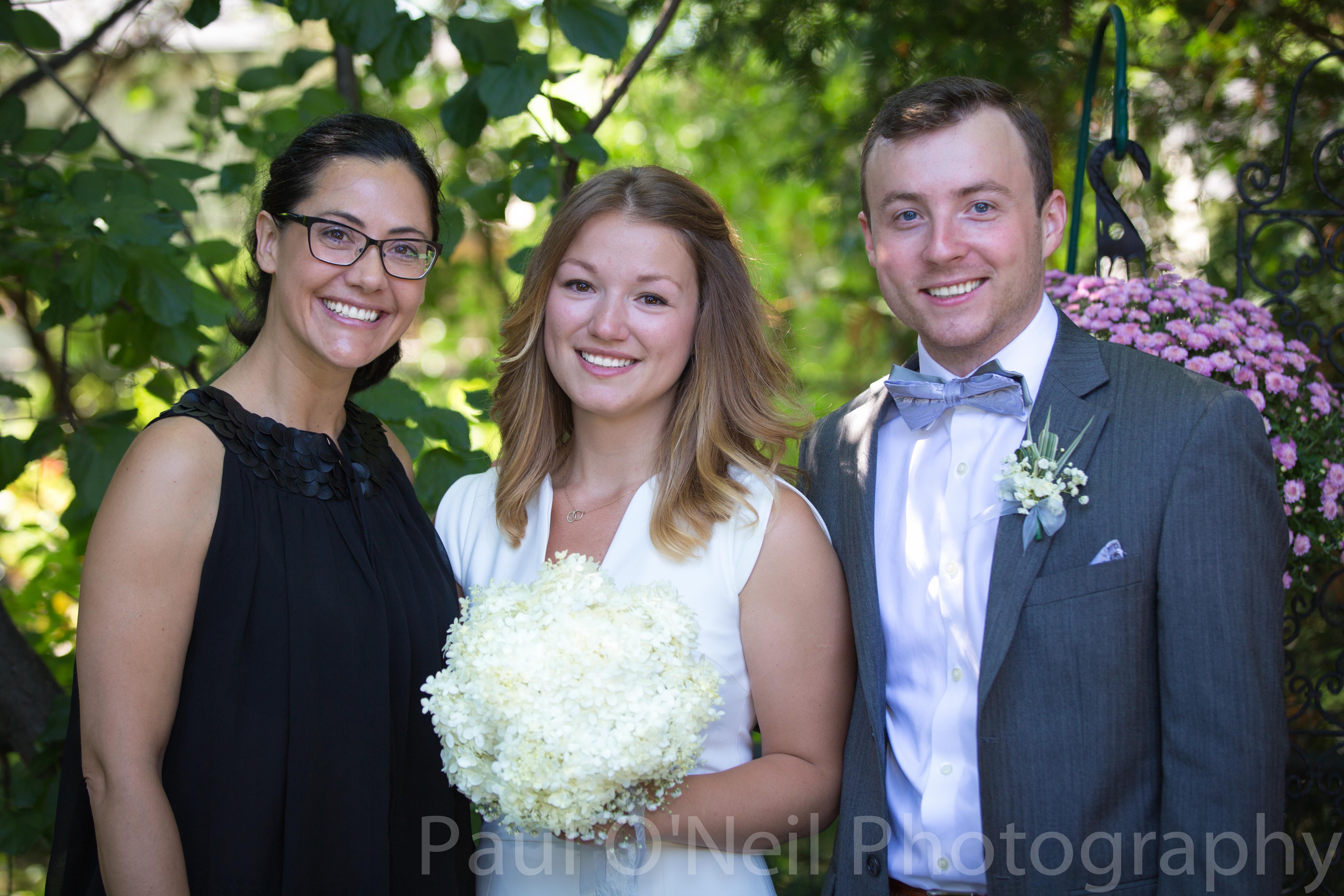 Toronto Wedding Officiant