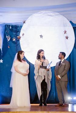 Unique wedding officiant