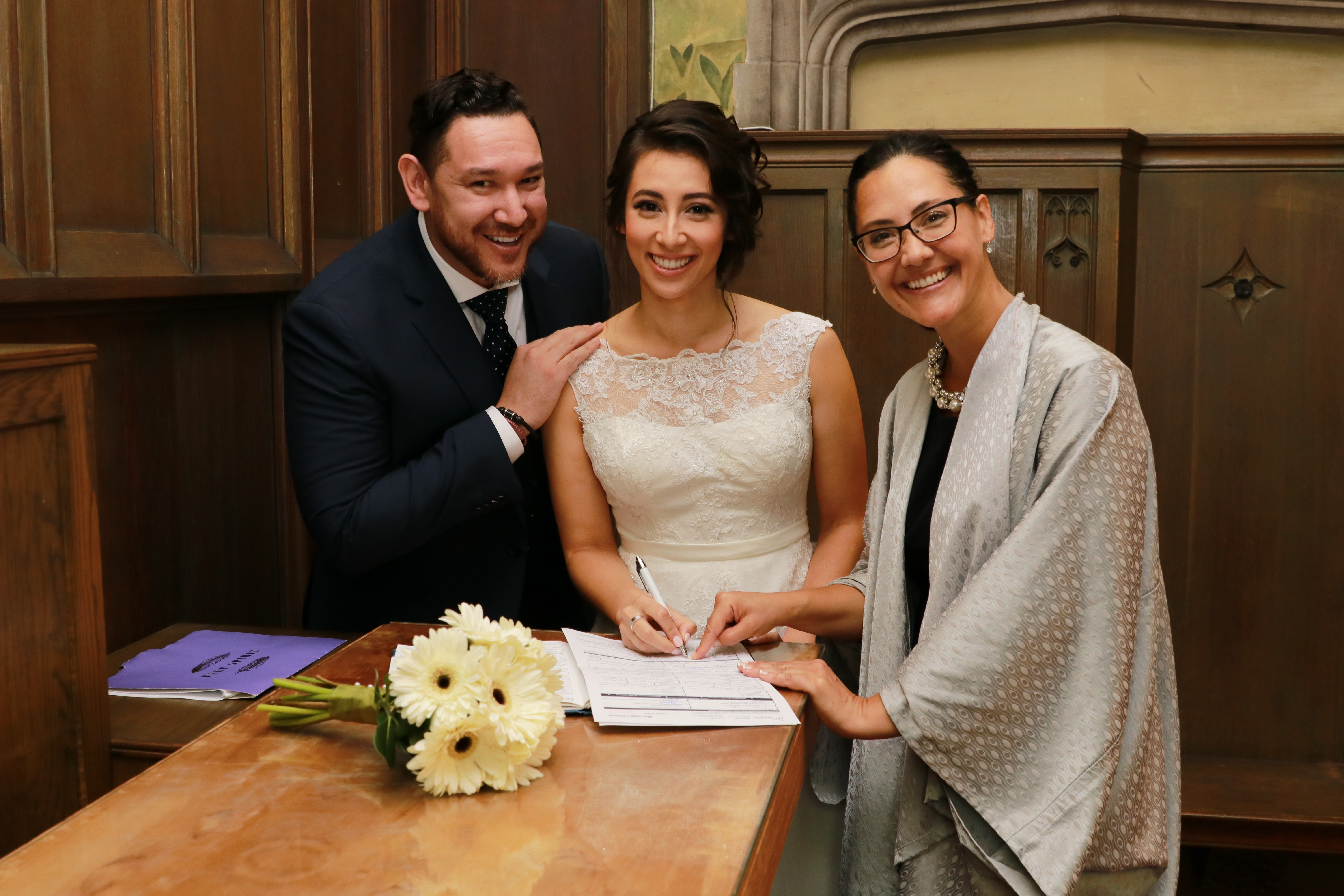 Hart House Wedding Officiant