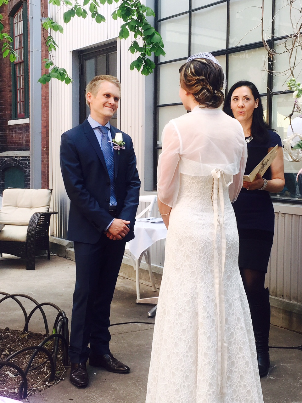 Caffino Wedding Officiant