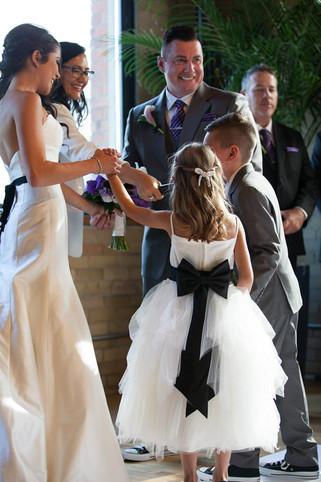 Blended Family Ceremonies involving Small Children