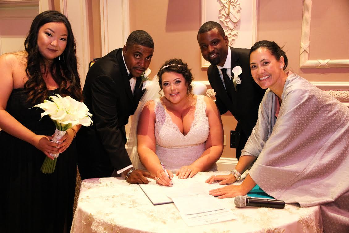 Vaughans Best Wedding Officiant