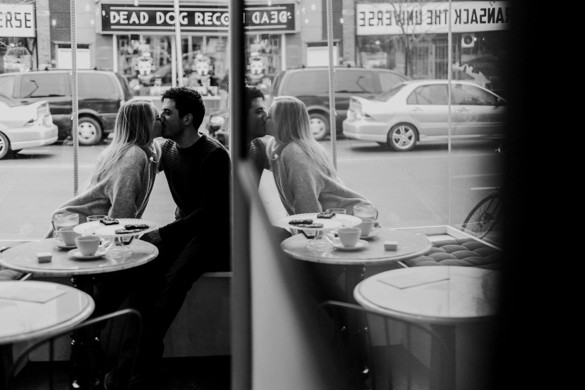 Coffee Shop Wedding