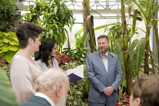 Toronto Small Secular Wedding