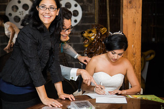 Behind the Scenes of an Eager Officiant