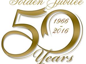 Golden Jubilee celebrations begin on School Birthday 16 January 2016