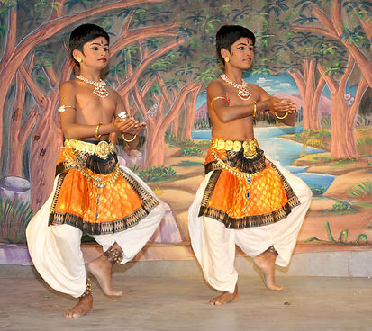 Nithin and Mithun have won several prizes and awards for Indian Classical dancing.