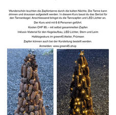 Flyer Zapfentanne