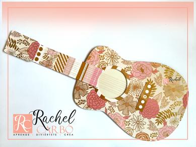 Guitarra en Cartón ♥ Rachel Carbó