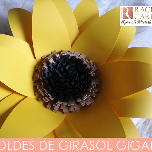 MOLDE DE GIRASOL GIGANTE
