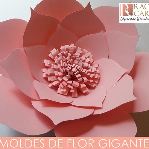 MOLDES DE FLOR GIGANTE