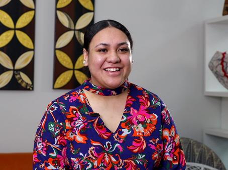 Susana Vaifoou, a Tongan language student at PEC