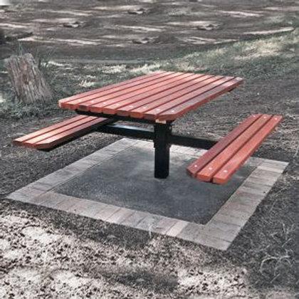 Heavy Duty Picnic Table (long)