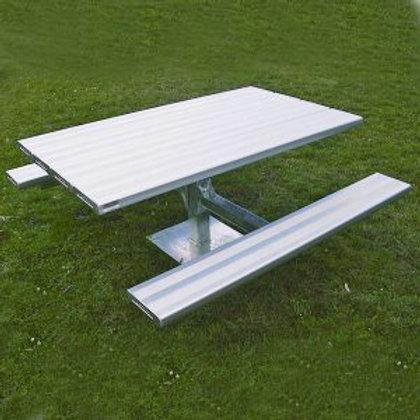 Heavy Duty Picnic Table (long) Aluminium