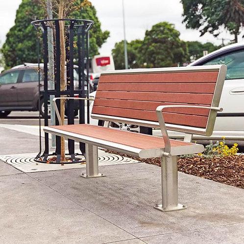 Brisbane Seat With Back