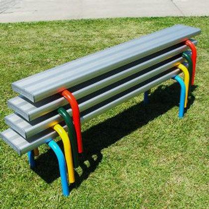 Stackable Aluminium Seats