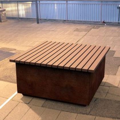 Hamilton Square Bench Seat