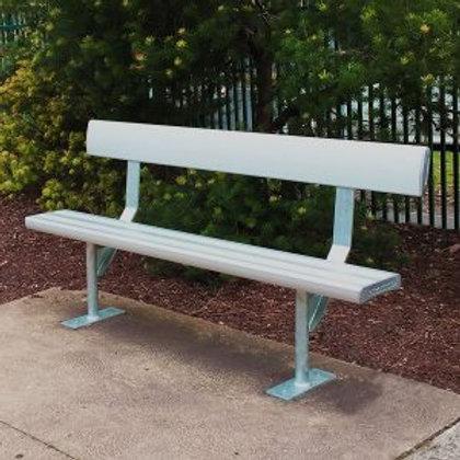 Aluminium Seat With Back