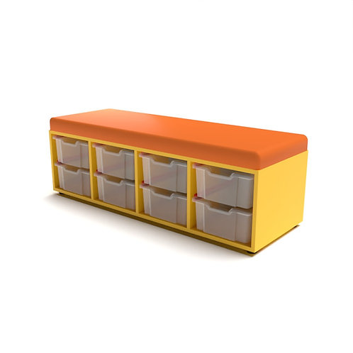 Storage Upholstered Caddy (8 Tray)