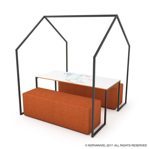 NorvaNivel_Cabana_Jnr_with_Bench_Ottoman