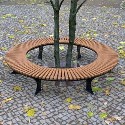 Wandin Semi Circular Timber Bench