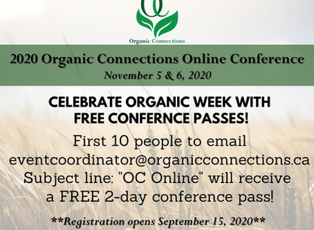 Organic Week Contest Time