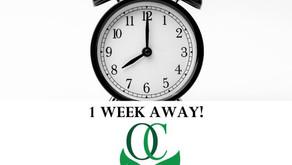 One Week Until OC2020